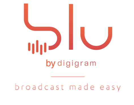 blu by Digigram logo