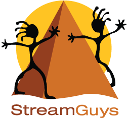StreamGuys logo text
