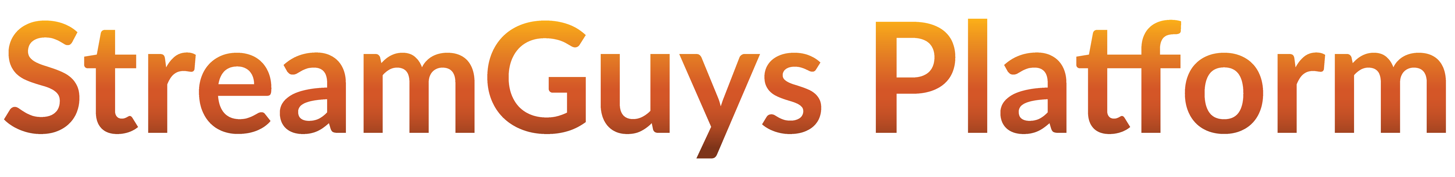 StreamGuys Platform logo